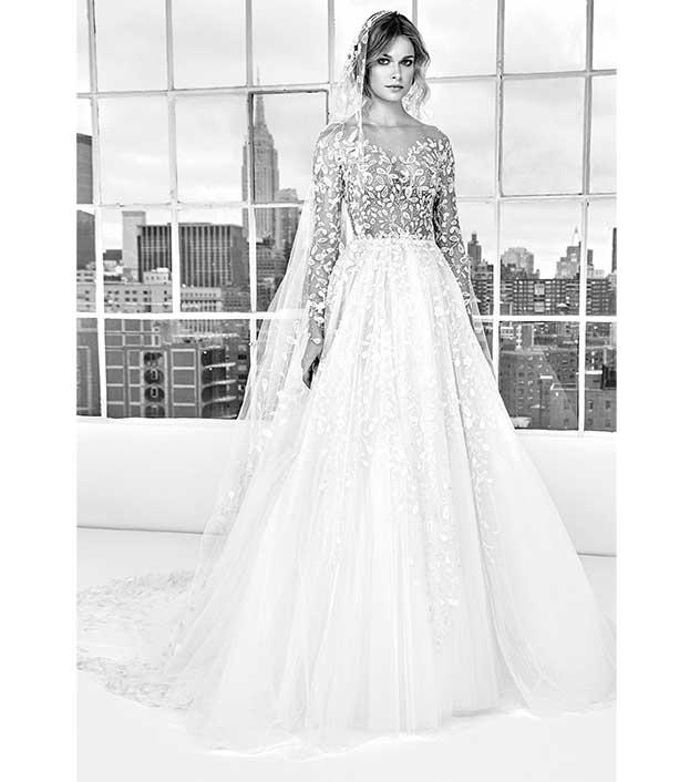 فستان-منفوش-من-زهير-مراد