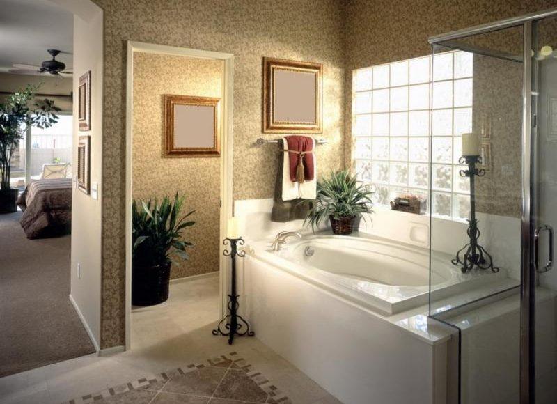 ورق الجدران مضاد للرطوبة في الحمام