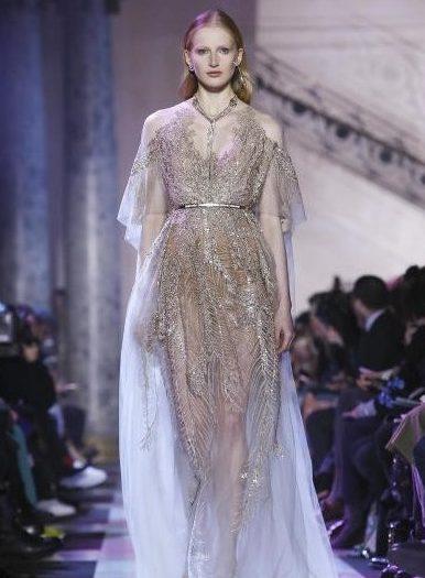 فستان-بالخيوط-الفضية-من-ايلي-صعب