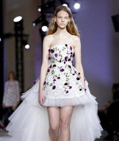 026031ac9f86a فستان مميز من دار giambattista valli لإطلالة راقية