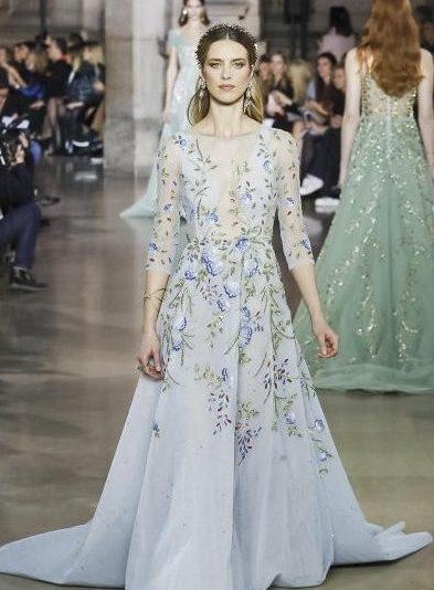 فستان-v-neck-من-حبيقة