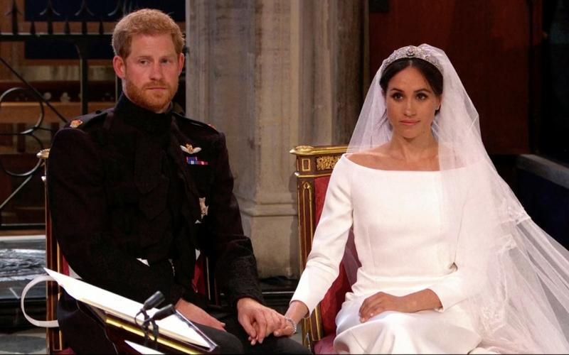 العروس مع الامير هاري