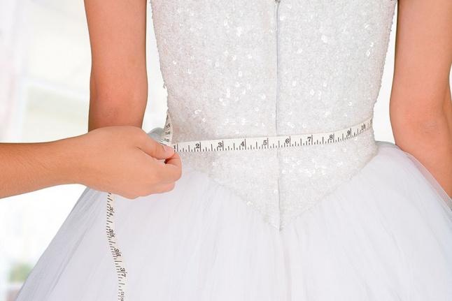 تثبيت وزن العروس