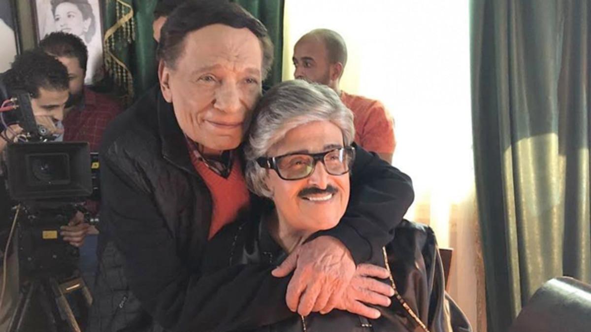 سمير غانم و عادل إمام