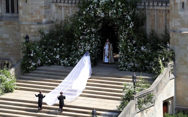 طول طرحة العروس