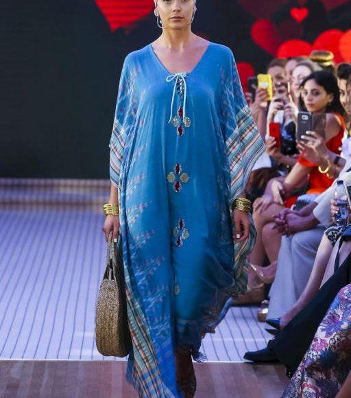 عبايات من اسبوع الموضة العربي