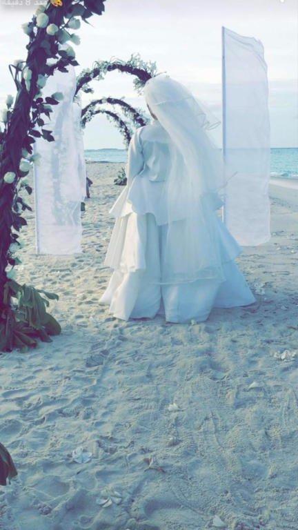 سارة-ترتدي-فستان-الزفاف
