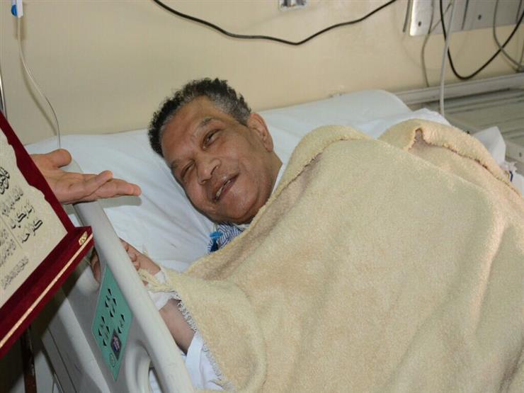 الفنان محمد شرف بعد-تدهورحالته الصحية