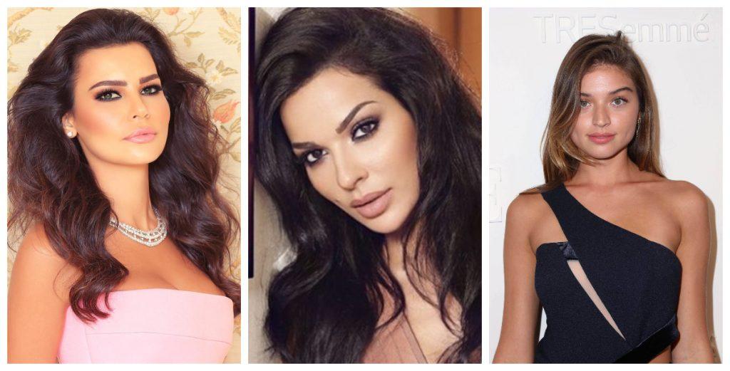 المصممة-مريم-الابيض-والممثلة-نادين-نجيم-والعارضة-الأرمينية-الكولومبية-دانييلا-لوبيز-أوسوريو