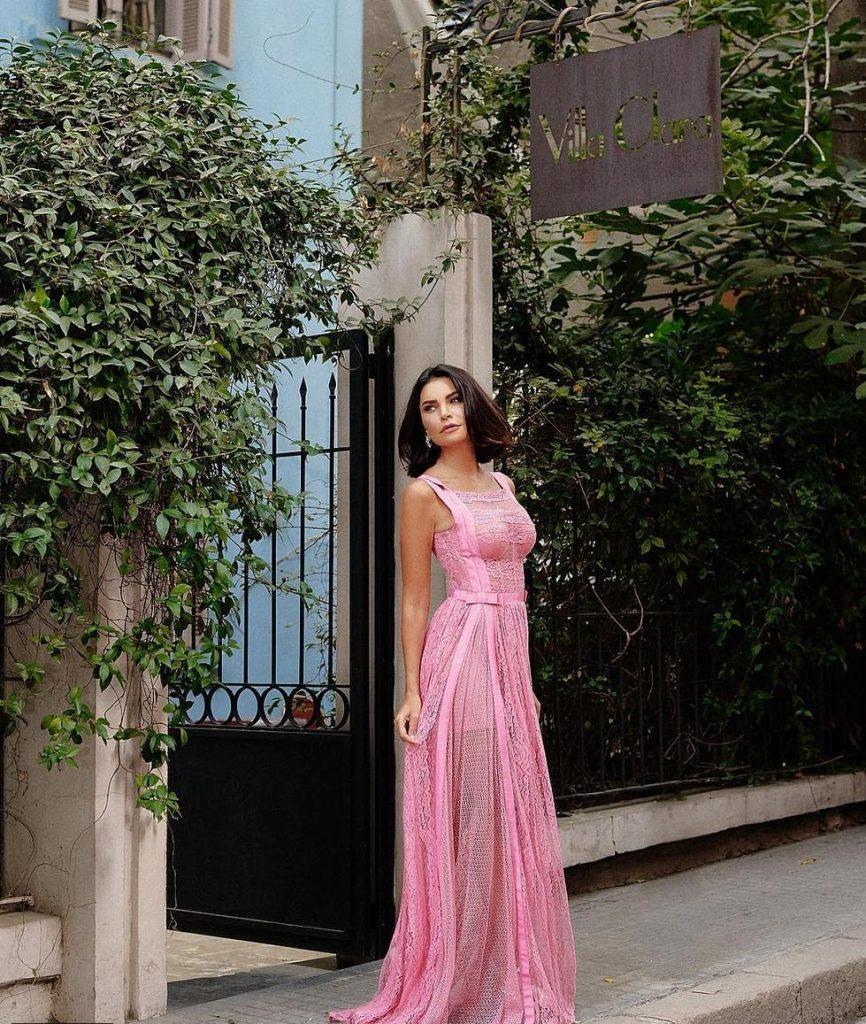 مريم-بفستان-من-زهير-مراد