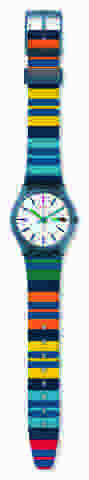 ساعة ملونة