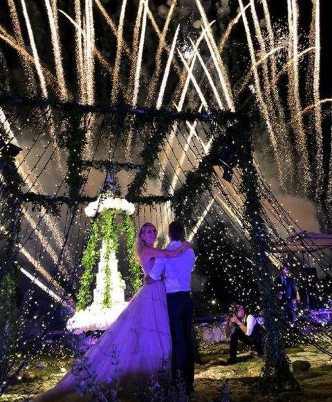اجواء حفل الزفاف