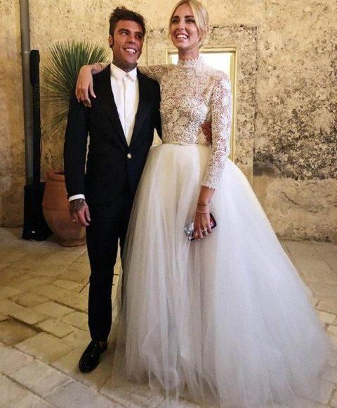 اطلالة العروسين
