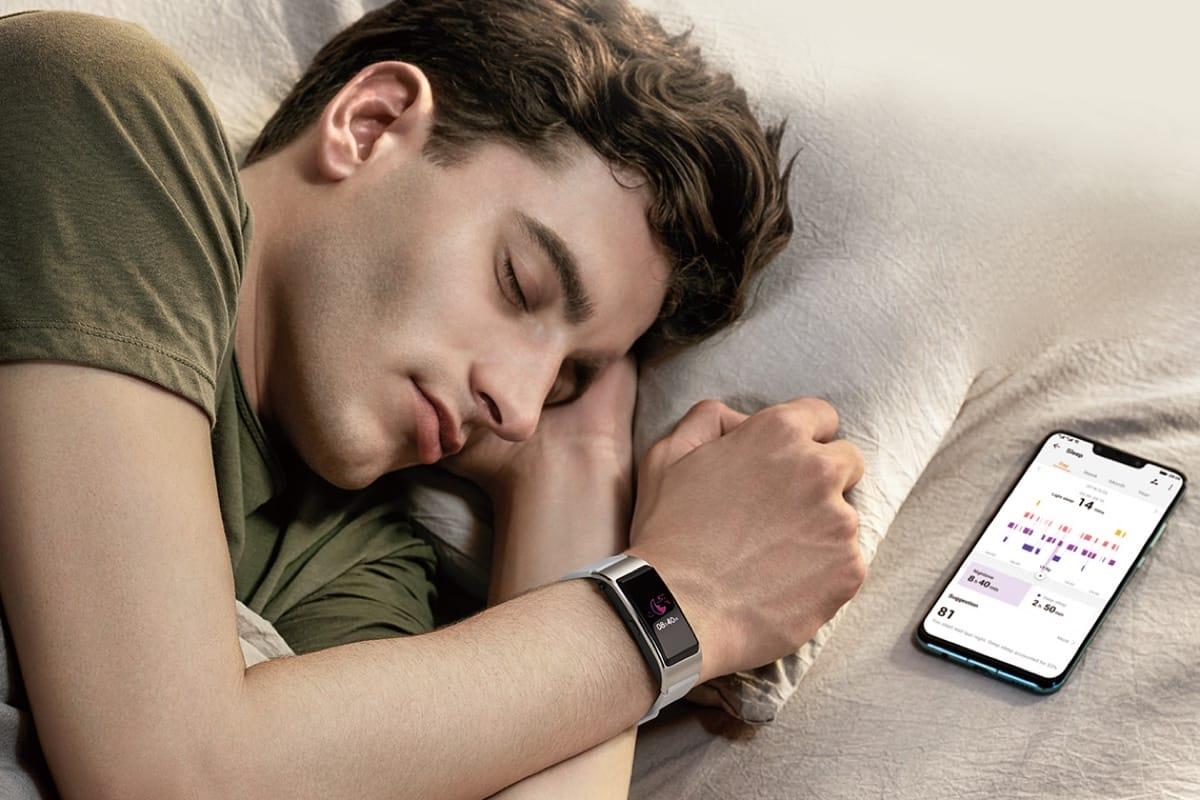 مراقبة الصحة بالساعة أثناء النوم