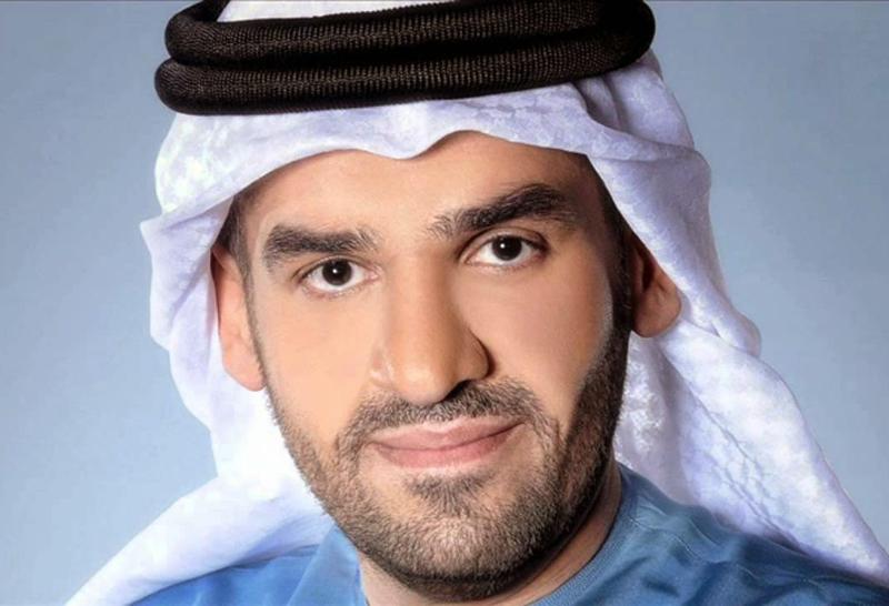 احتفال حسين الجسمي باليوم العالمي للعلم الإماراتي
