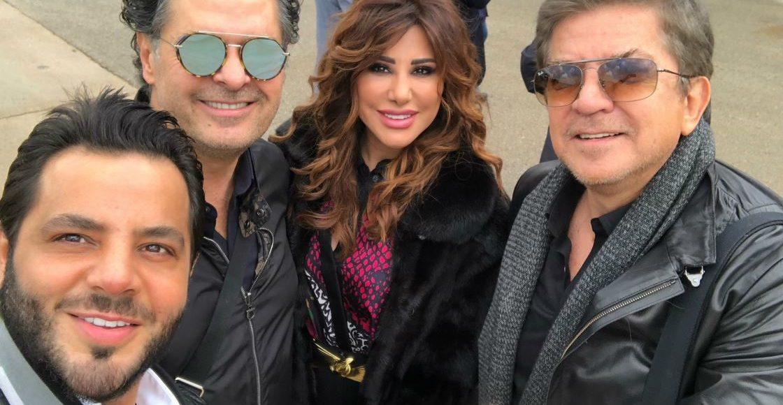 نيشان وعدد من الفنانين في مهرجان شتاء طنطورة