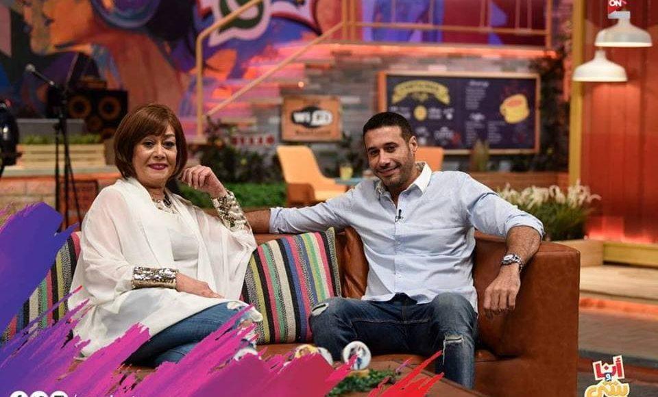 أحمد السعدني مع هالة فاخر في برنامج أنا وبنتي