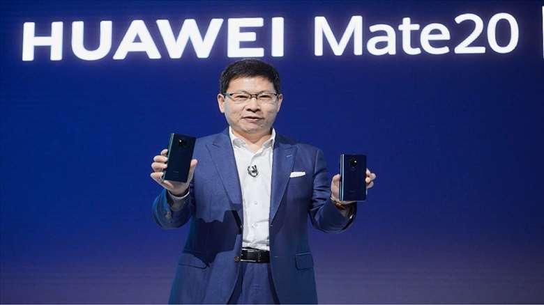 هواوي ترفع مبيعات الهواتف الذكية عالميا في 2018