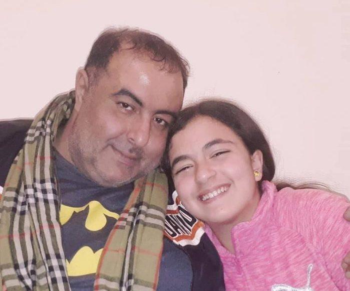 ابنته