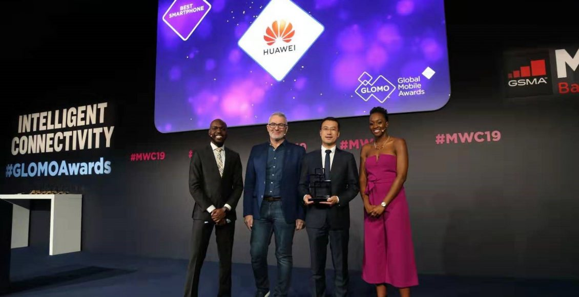 Huawei wins best smartphone at MWC