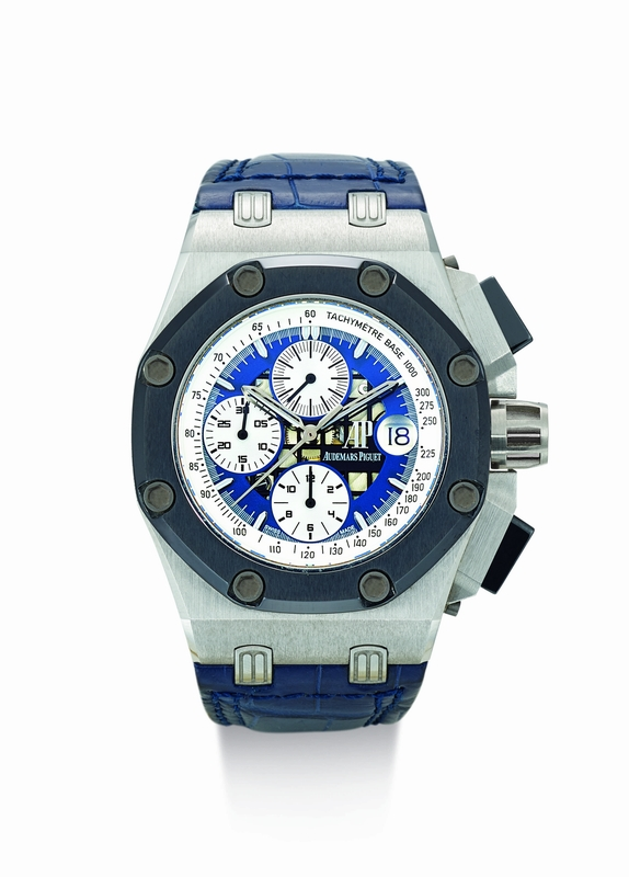 AUDEMARS PIGUET - ROYAL OAK OFFSHORE CHRONOGRAPH RUBENS BARRICHELLO REFERENCE 26078 Made in 2005 (est. $60-80,000)