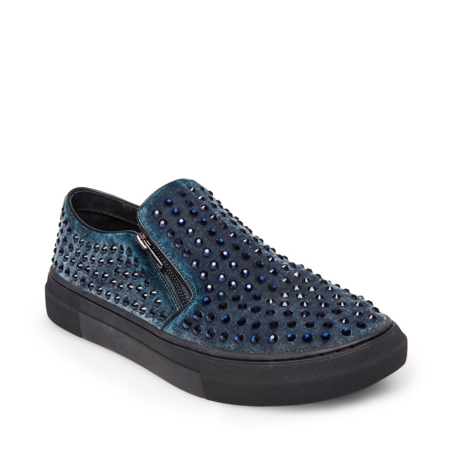 STEVEMADDEN-ATHLETIC_BEAM_BLUE-VELVET-men - AED 449