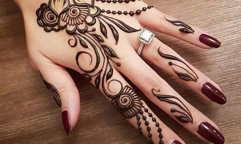 نقوش الحناء للعروسة