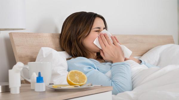 التخلص من الاصابة بنزلات البرد