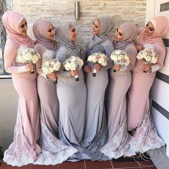 فساتين صديقات العروس 2019