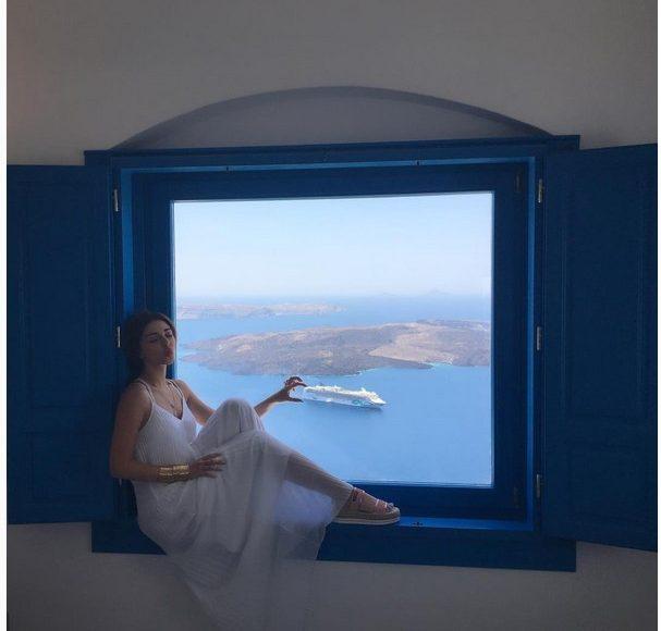صور ميريام فارس في اليونان
