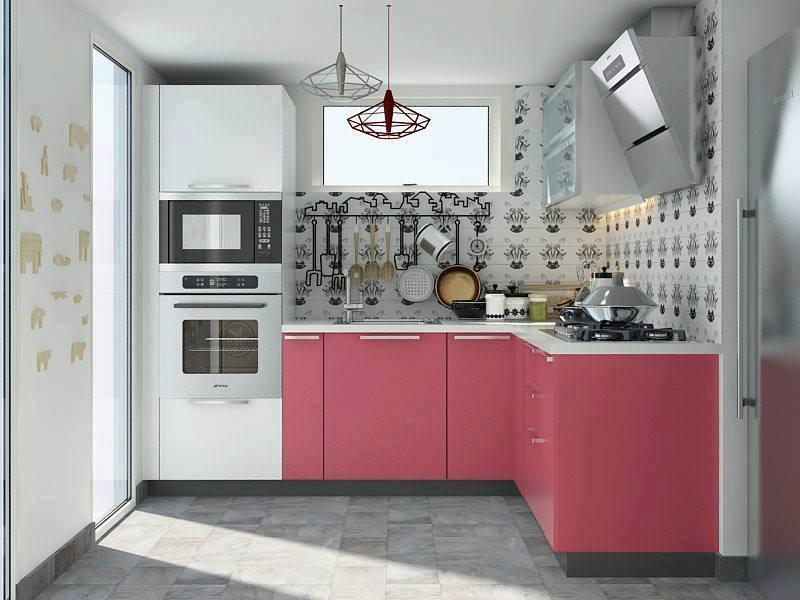 أجمل ديكورات المطابخ مع أفكار المطبخ الصغير