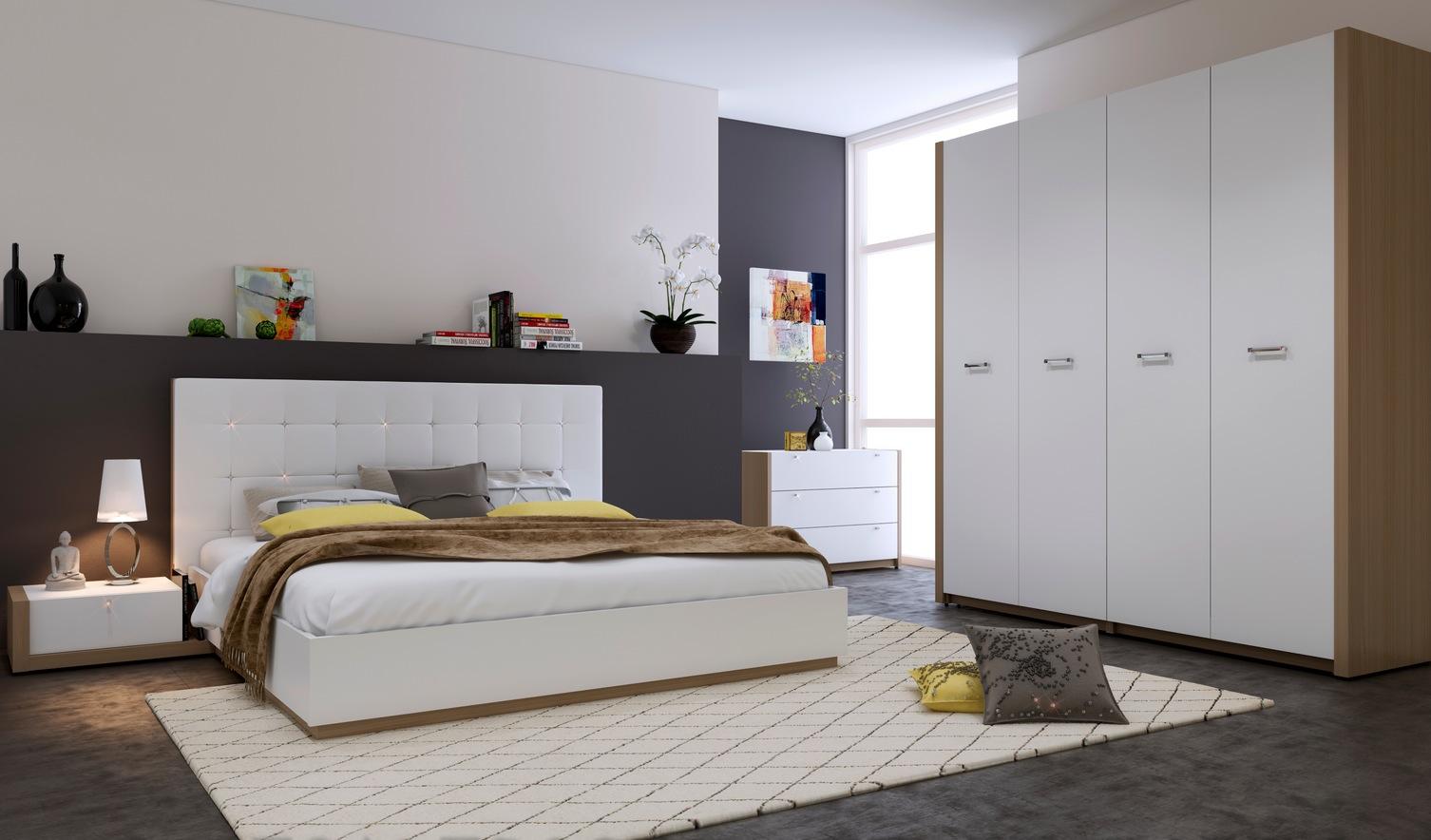 تصاميم دواليب ملابس أنيقة لـ غرف نوم مودرن