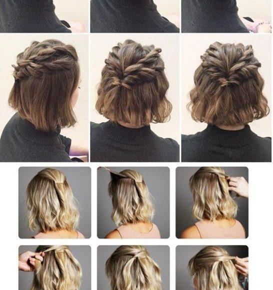 طريق تسريحات شعر قصير