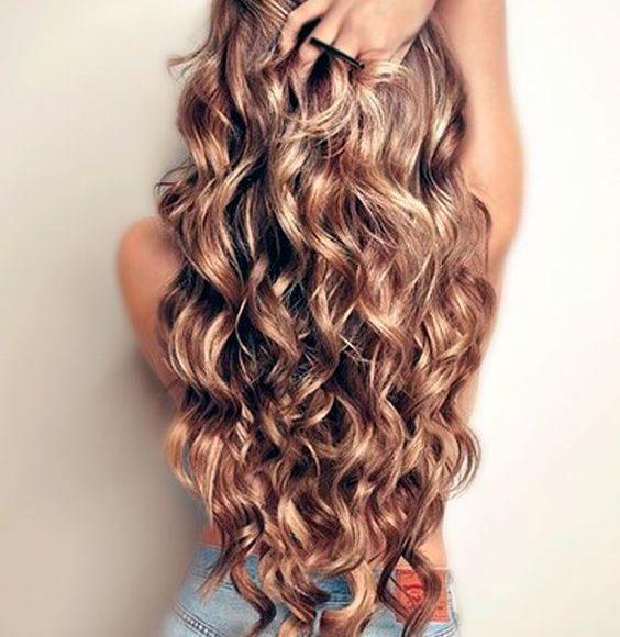 شعر طويل مسدول