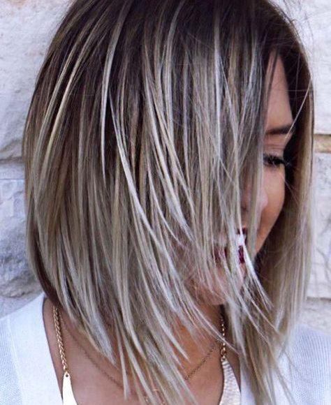 لوك درجات صبغات الشعر الرمادي