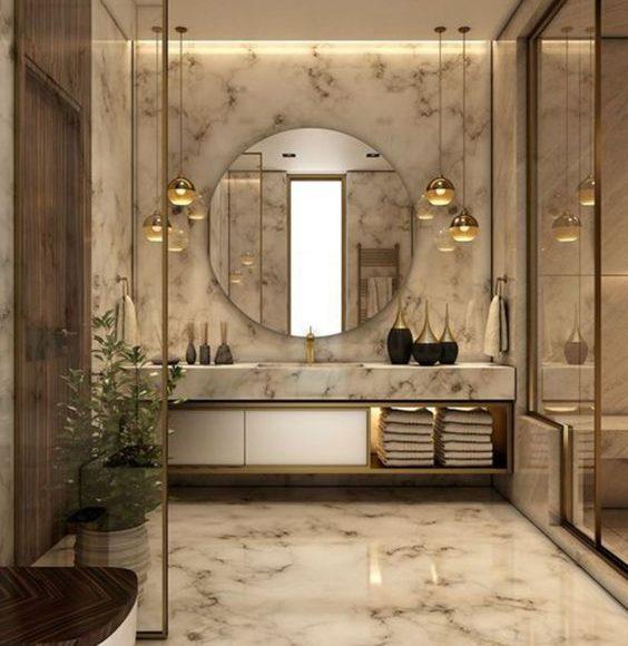 ديكور حمامات 2019