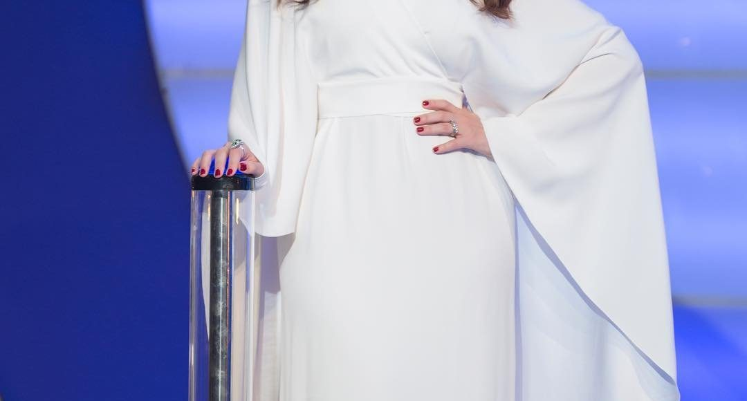 رؤى الصبان تتألق في فستان من Alberta Ferretti