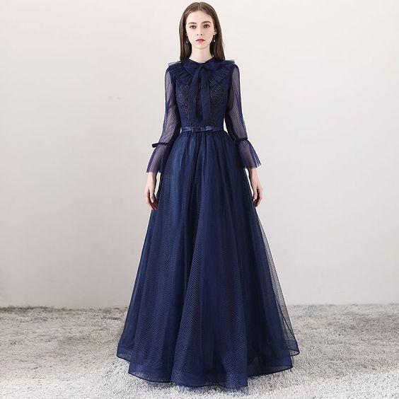 فستان طويل للمحجبات