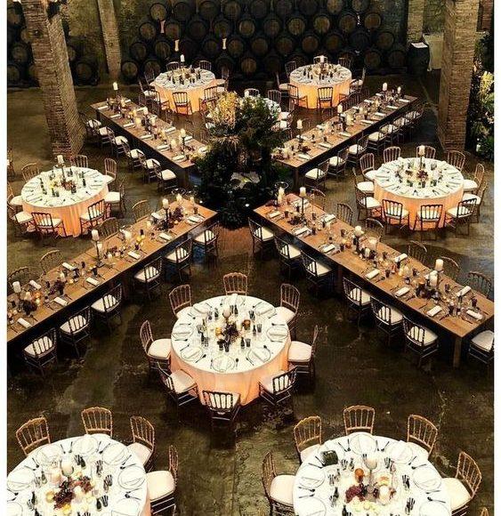 ديكور قاعات حفلات الزفاف