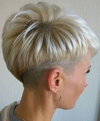 قصات شعر قصير فرنسي