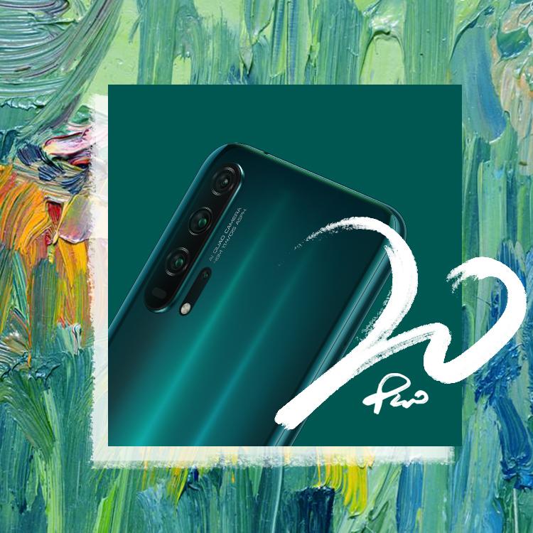 لون حياتك بإيجابية وتفاؤل وسعادة مع هاتف HONOR 20 PRO الجديد