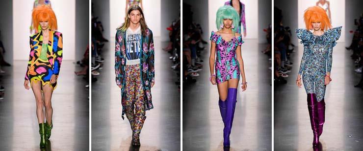 أزياء جيريمي سكوت خلال اسبوع الموضه بنيويورك 2020