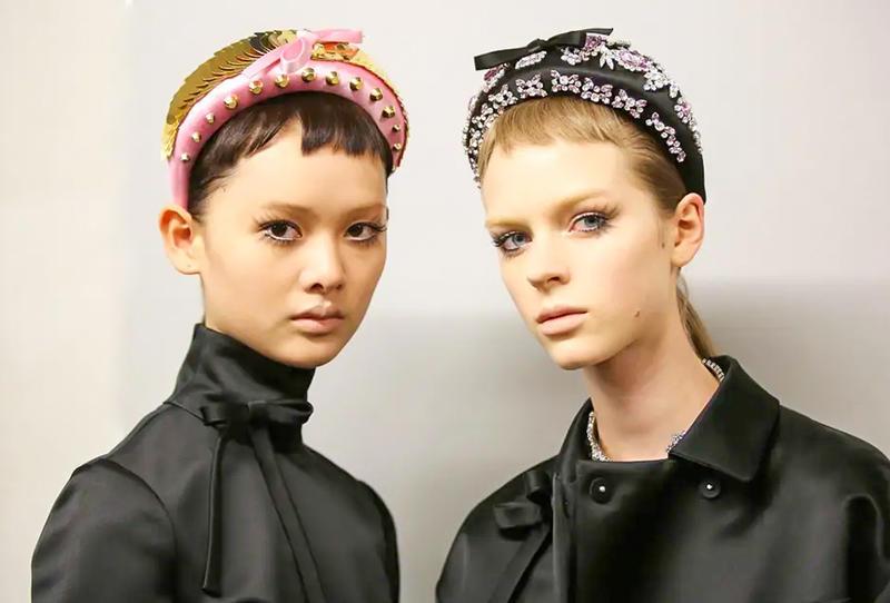 المكياج المميز في عروض الأزياء العالمية