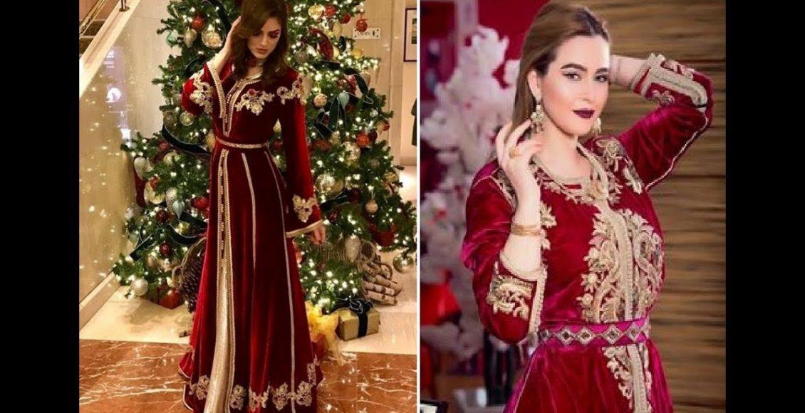 القفطان الأحمر اختيارًا مثاليًا للعروس