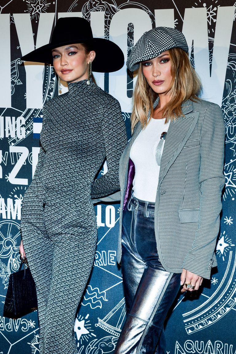 إطلالات الأختان بيلا وجيجي حديد خلال عروض الأزياء بنيويورك 2019