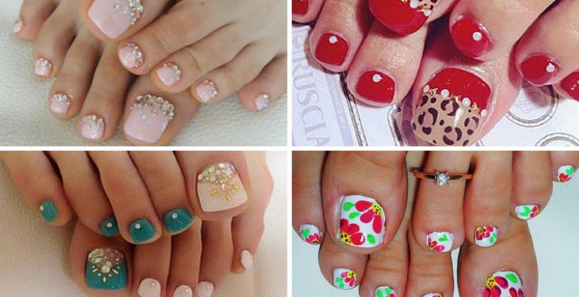 تصاميم مميزة لرسومات أصابع الأقدام