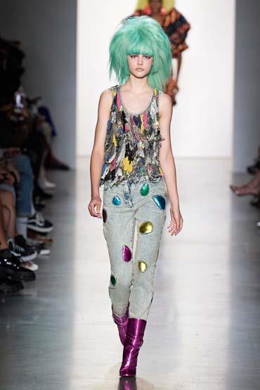 تصميمات مميزة لجيريمي سكوت خلال اسبوع الموضة في نيويورك 2020