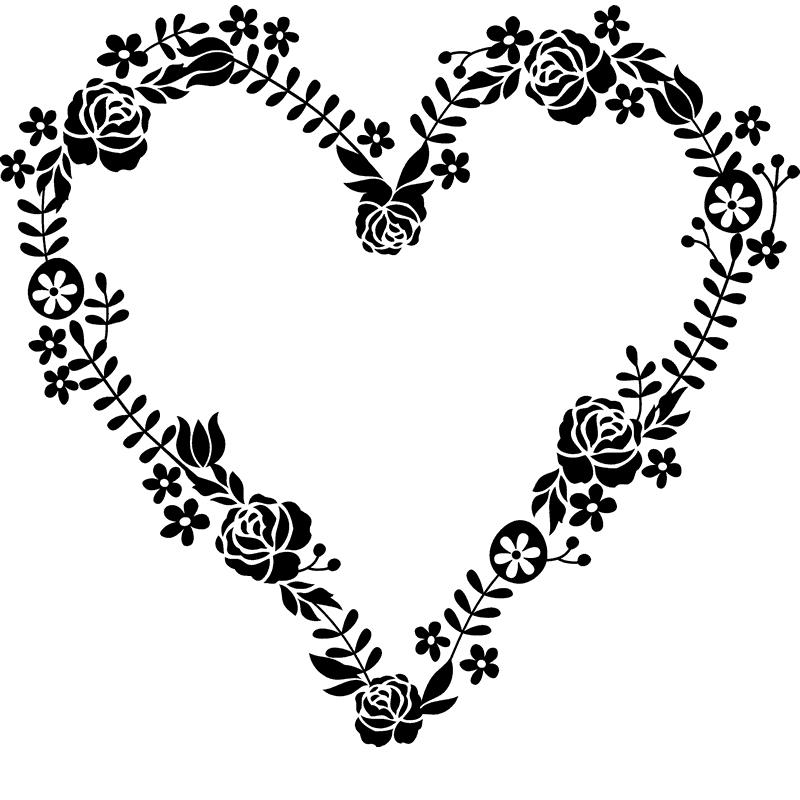 تصميم ثيمة حفلات على شكل قلب