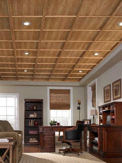 تصميم خشبي للأسقف