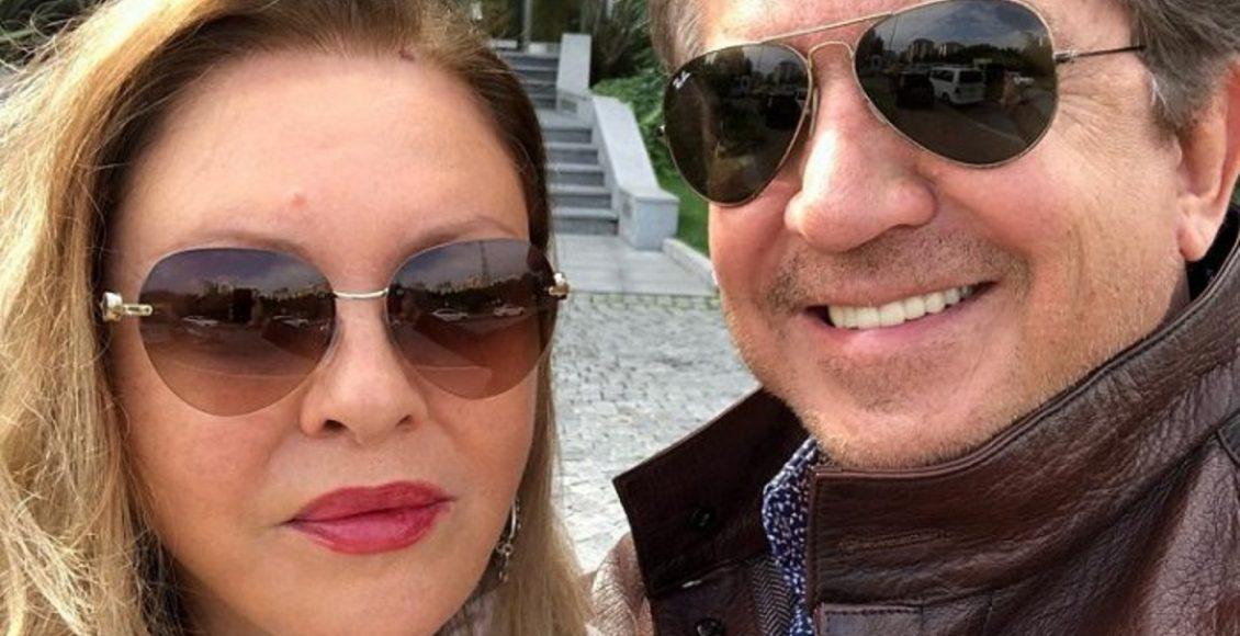 جورجينا رزق مع زوجها وليد توفيق